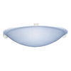 PLC Lighting 3464PCLED Nuova Collection 1 Light Ceiling Mount in Polished Chrome Finish