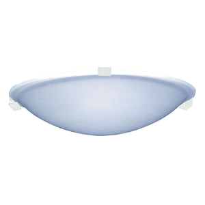 PLC Lighting 3464 WH Nuova Collection 1 Light Ceiling in White Finish
