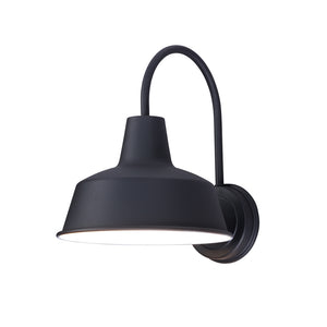 Maxim Lighting 35016BK Pier M 1-Light Outdoor Wall Sconce in Black Finish