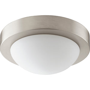 1 Light Ceiling Mount in Satin Nickel Finish 3505-9-865