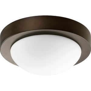 1 Light Ceiling Mount in Oiled Bronze Finish 3505-9-886