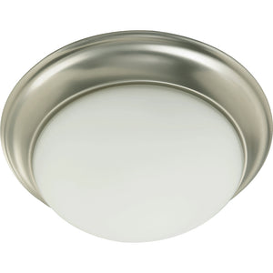 3 Light Ceiling Mount in Satin Nickel Finish 3507-17-65