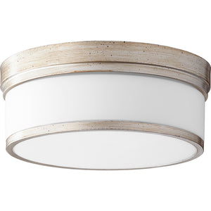 Celeste 3 Light Ceiling Mount in Aged Silver Leaf Finish 3509-14-60