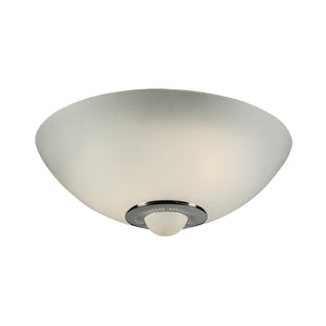 PLC Lighting 3542 PC Andante Collection 2 Light Ceiling in Polished Chrome Finish