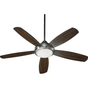 Colton 3 Light Ceiling Fan in Antique Silver Finish 36525-992
