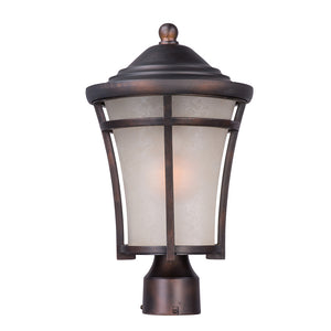 Maxim Lighting 3800LACO Balboa DC 1-Light Medium Outdoor Post in Copper Oxide Finish