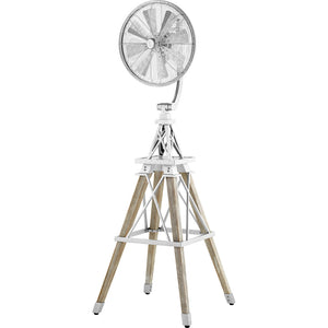 Windmill Ceiling Fan in Galvanized Finish 39158-9