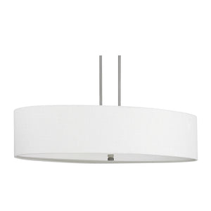 Capital Lighting Loft 3926MN-630 6 Light Island Fixture in Matte Nickel