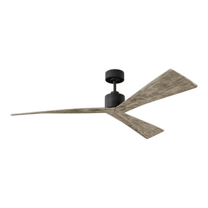 "Adler 60"" Aged Pewter Indoor Ceiling Fan by Monte Carlo Fans 3ADR60AGP"