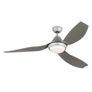 "Avvo 56"" Grey Indoor Ceiling Fan by Monte Carlo Fans 3AVOR56GRYD-V1"