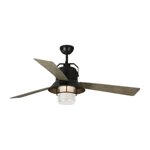 "Boynton 54"" Antique Bronze Outdoor Ceiling Fan by Monte Carlo Fans 3BTR54ANBZD"