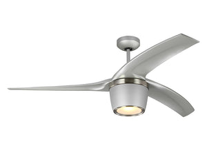 "Skylon 56"" Grey Indoor Ceiling Fan by Monte Carlo Fans 3SKYR56GRYD"