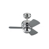 "Micro 24 Fan 24"" Polished Nickel Indoor Ceiling Fan by Monte Carlo Fans 3TF24PN"