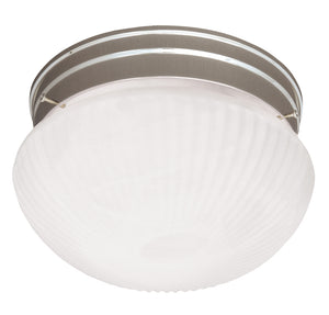 Flush Mount 1 Light Flush Mount  in Satin Nickel Finish by Savoy House 400-SN