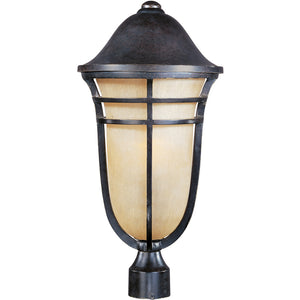 Maxim Lighting 40100MCAT Westport VX 1-Light Outdoor Pole/Post Lantern in Artesian Bronze Finish