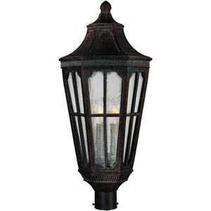 Maxim Lighting 40150CDSE Beacon Hill VX 3-Light Outdoor Pole/Post Lantern in Sienna Finish