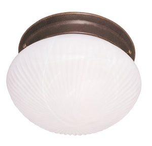Flush Mount 2 Light Flush Mount  in Brownstone Finish by Savoy House 403-BN