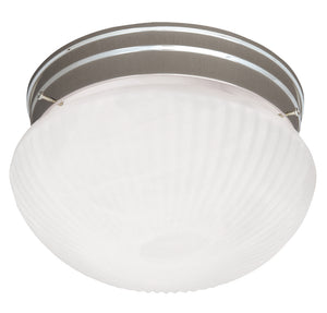 Flush Mount 2 Light Flush Mount  in Satin Nickel Finish by Savoy House 403-SN