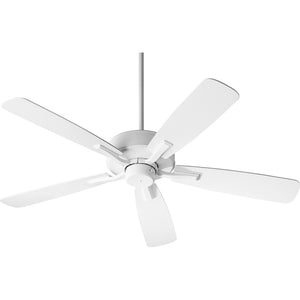 Villa Ceiling Fan in Studio White Finish 42525-8