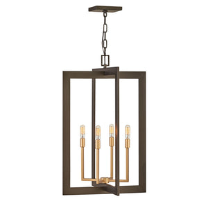 Anders Chandelier by Hinkley 4344MM Metallic Matte Bronze