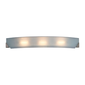 PLC Lighting 4444 PC Cirrus Collection 3 Light Vanity in Polished Chrome Finish