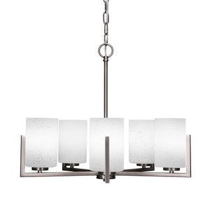 Toltec 4505-GP-310 Chandeliers in Brushed Nickel Finish