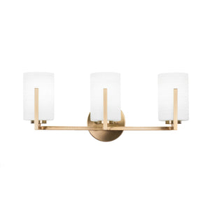 Toltec 4513-NAB-4061 Bathroom Lighting in Brushed Nickel Finish