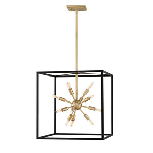 Aros Chandelier by Hinkley 46314BLK Lisa McDennon Black*