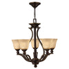 Bolla Chandelier by Hinkley 4655OB Olde Bronze