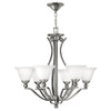 Bolla Chandelier by Hinkley 4656BN Brushed Nickel