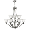 Bolla Chandelier by Hinkley 4657BN Brushed Nickel