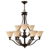 Bolla Chandelier by Hinkley 4657OB Olde Bronze