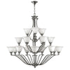 Bolla Chandelier by Hinkley 4659BN Brushed Nickel