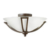 Bolla Bath Ceiling by Hinkley 4660OB-OP-LED Olde Bronze with Opal glass