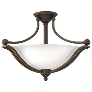 Bolla Foyer Ceiling by Hinkley 4669OB-OPAL Olde Bronze with Opal glass