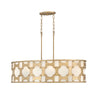 Carter Chandelier by Hinkley 4738BNG Burnished Gold