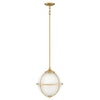Odeon Pendant by Hinkley 4744SA Satin Brass