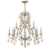 Carlton Chandelier by Hinkley 4778SL Silver Leaf