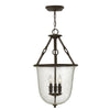 Dakota Foyer Pendant by Hinkley 4783OZ Oil Rubbed Bronze