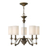Sussex Chandelier by Hinkley 4795EZ English Bronze