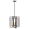 Quentin Chandelier by Hinkley 4814KZ Buckeye Bronze