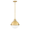 Fletcher Pendant by Hinkley 4834SA Satin Brass