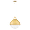 Fletcher Pendant by Hinkley 4835SA Satin Brass