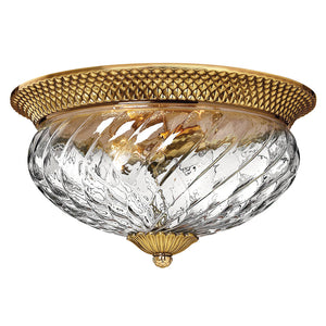 Plantation Bath Ceiling by Hinkley 4881BB Burnished Brass