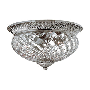 Plantation Bath Ceiling by Hinkley 4881PL Polished Antique Nickel
