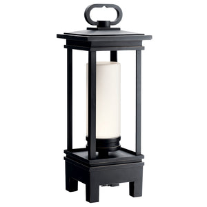 South Hope LED Outdoor Portable Lantern in Rubbed Bronze Finish by Kichler 49473RZLED