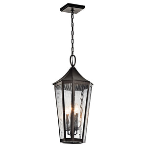 Rochdale 4 Light Outdoor Hanging Pendant in Olde Bronze Finish by Kichler 49517OZ