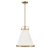 Lark Pendant by Hinkley 4993LCB Lacquered Brass