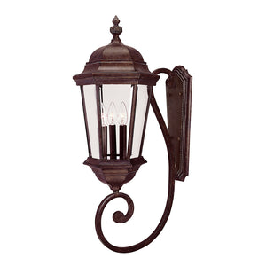 Wakefield 3 Light Outdoor Wall Lantern in Walnut Patina Finish by Savoy House 5-1300-40