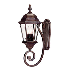 Wakefield 2 Light Outdoor Wall Lantern in Walnut Patina Finish by Savoy House 5-1301-40